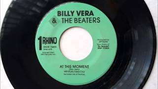 At This Moment , Billy Vera & The Beaters , 1986 Vinyl 45RPM