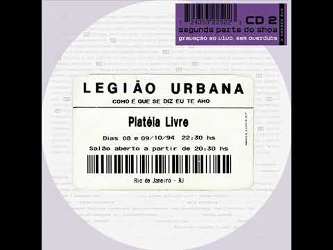 Legião Urbana - Tempo perdido (ao vivo)