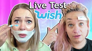 WIR TESTEN WISH PRODUKTE! Alles Fake!? Facelifting?