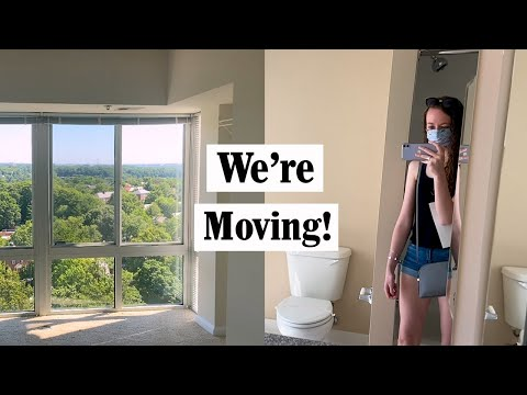 Touring Apartments in Alexandria, Virginia | Moving Vlog 🏡