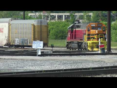 CSX/NS Railfanning - Cincinnati, OH May 7, 2017