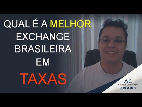 Qual é a MELHOR Exchange de Criptomoedas, em Taxas, do Brasil?