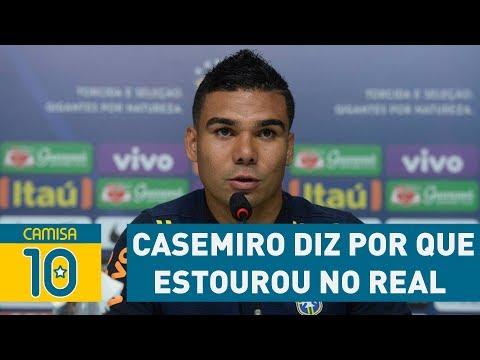 Casemiro diz por que estourou no REAL e não no SÃO PAULO!