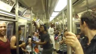 THE LION KING Broadway Cast Takes Over NYC Subway and Sings 'Circle Of Life