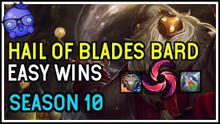 Hail of Blades Bard Support Build - Season 10