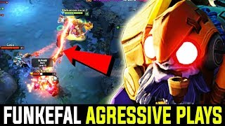 Funkefal Tinker - With Most Aggressive And Amazing Plays | 7.21d Dota 2