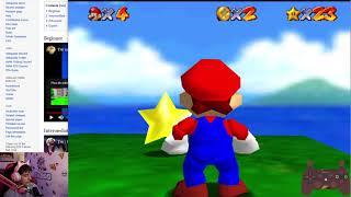 (Speedrun) J'apprends la route 70 Star de Mario 64 2/2