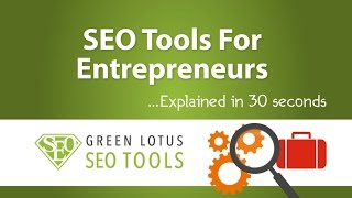 SEO Tools For Small Businesses ... Explained in 30 Seconds!
