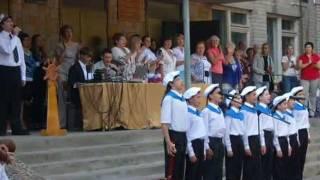 1 сентября 2011, Гимназия 9, Воронеж.wmv