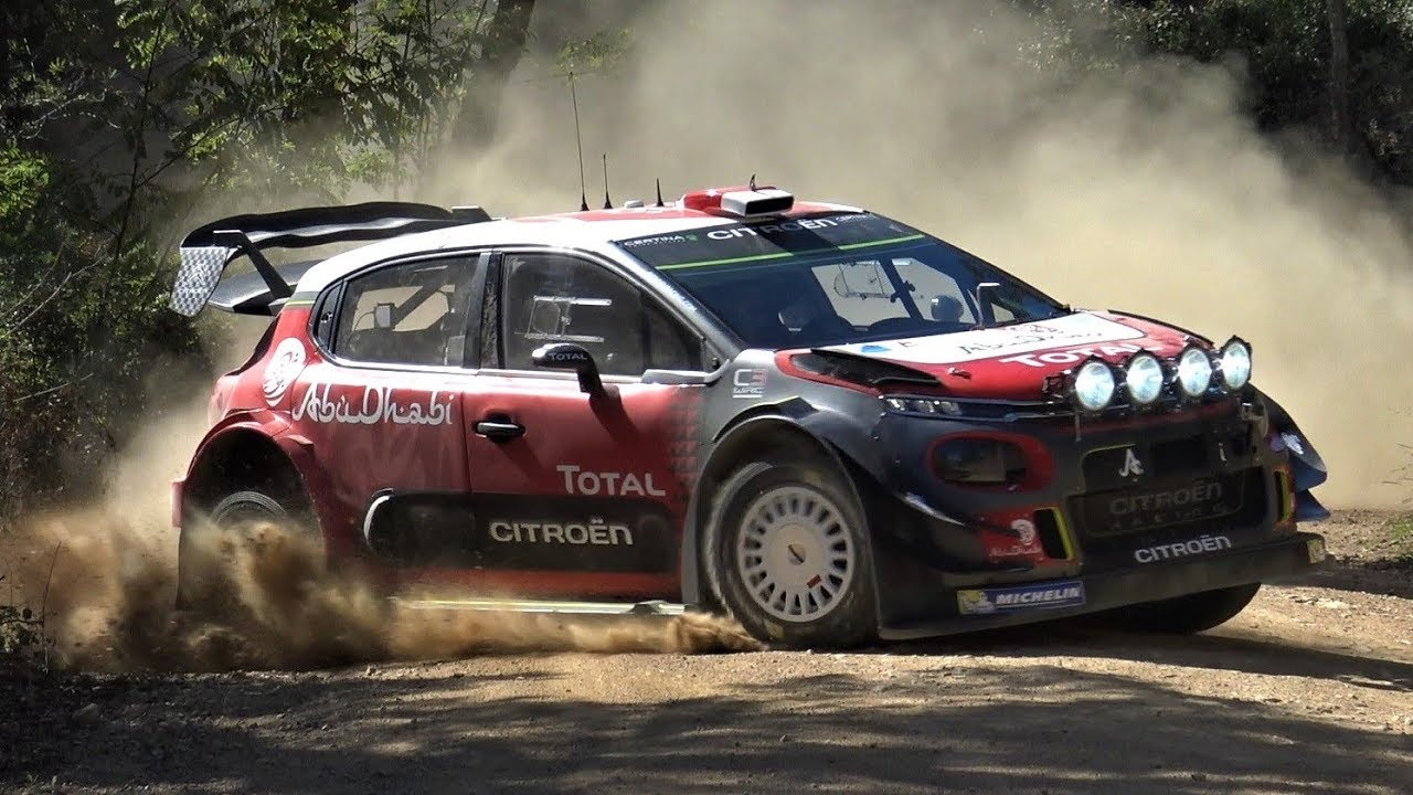 test s bastien loeb citro n c3 wrc 2017 on gravel by jaume soler youtube. Black Bedroom Furniture Sets. Home Design Ideas