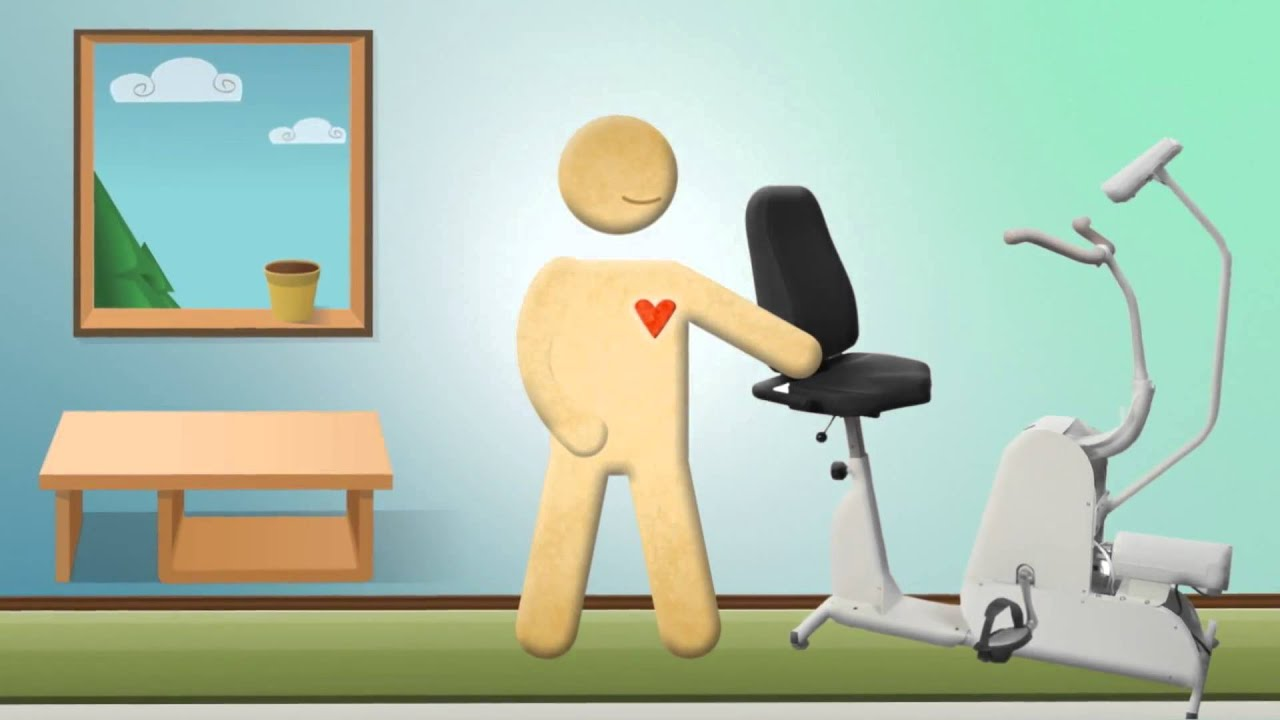 Cartoon physical therapy - A Motorized Exercise Bike For At Home Physical Therapy Theracycle