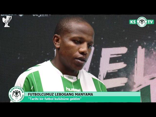 Lebogang Manyama Atiker Konyaspor'umuzda!