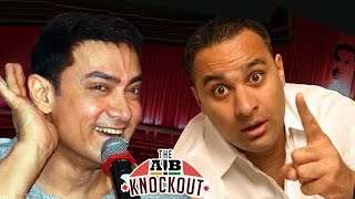 Russell Peters Asks Aamir Khan To Shut Up |  AIB KNOCKOUT CONTROVERSY