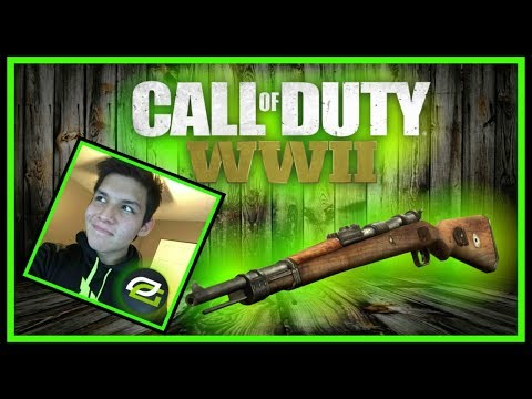 optic pamaj is right this will make you rage call of duty ww2 kar98k iron sight gameplay