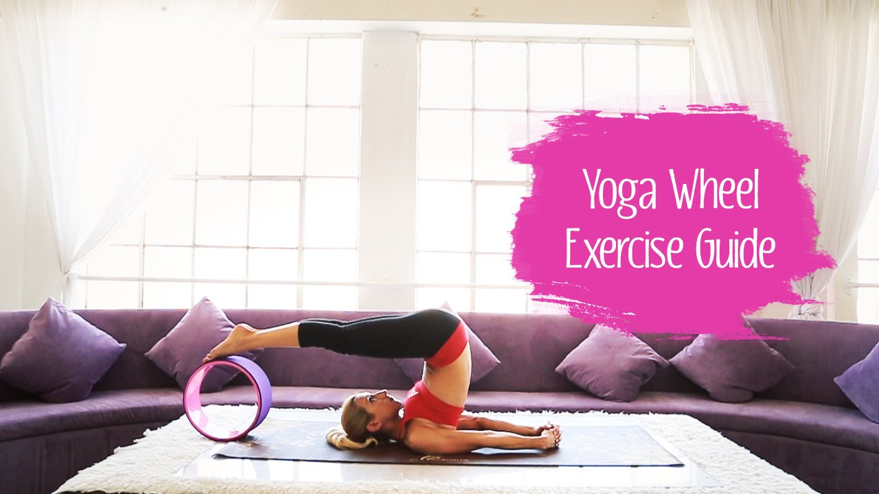 How To Use a Yoga Wheel - Stretching & Strengthening Exercises | ProSource
