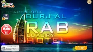 Escape From Burj Al Arab Luxury Hotel walkthrough,.