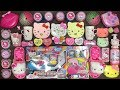 Special Series Hello Kitty Slime | Mixing Too Many Things into Store Bought Slime | Satisfying Slime