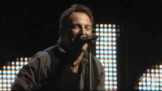 Bruce Springsteen Performs His New Song Wrecking Ball At Giants Stadium