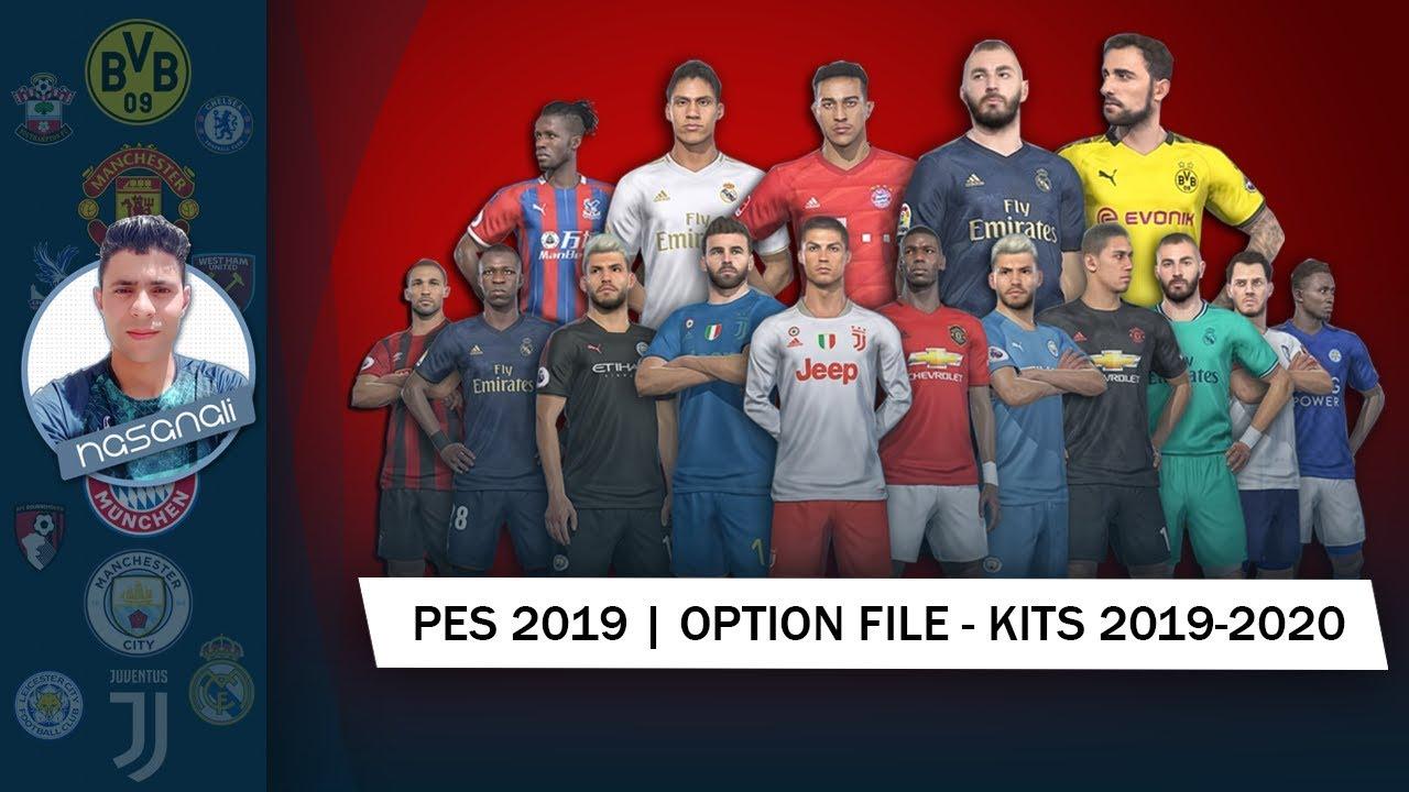 PES 2019 | OPTION FILE - KITS 2019-2020 |PS4,file [ 2 ]