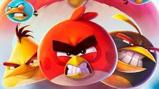 Энгри Бердс 2 - ЗЛЫЕ ПТИЧКИ ПРОТИВ СВИНЕЙ #2 Мультик игра для детей Angry Birds 2