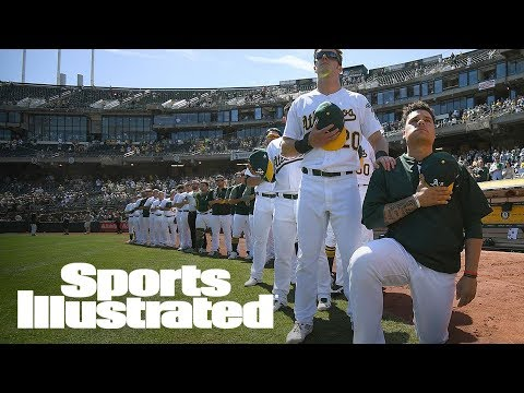 How MLB Clubhouse Culture Keeps Players From Sticking Out, Protesting | SI NOW | Sports Illustrated