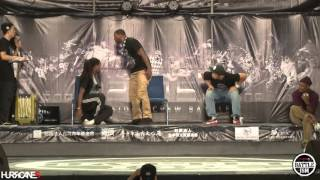 KEFTON VS PARADOX [ Final ] - HURRICANES BATTLE-ISM 2015 TAIWAN & HIP HOP 1ON1 SIDE