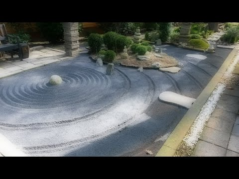 ASMR Japanese zen garden relaxing sleep meditation 禅の庭