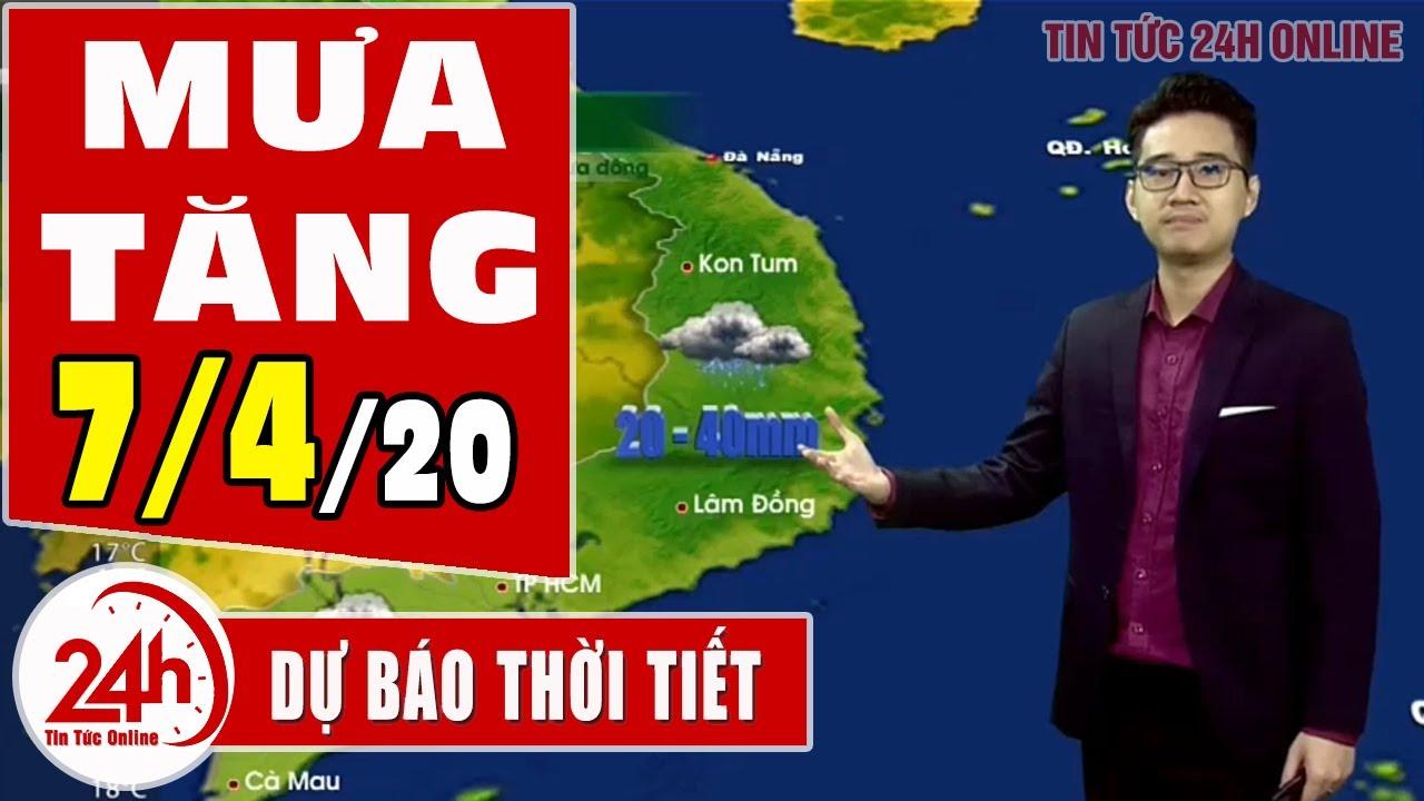 Dự báo thời tiết ngày 7 tháng 4 năm 2020 | Dự báo thời tiết ngày mai và 3 ngày tới mới nhất TT24h