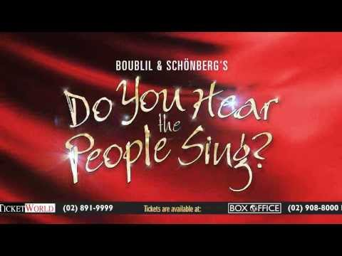 Do You Hear The People Sing? - Manila - January 2014 - Television Commercial