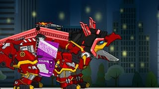 Triceratops Repair Dino Robot (Роботи динозаври ремонт Трицератопса)