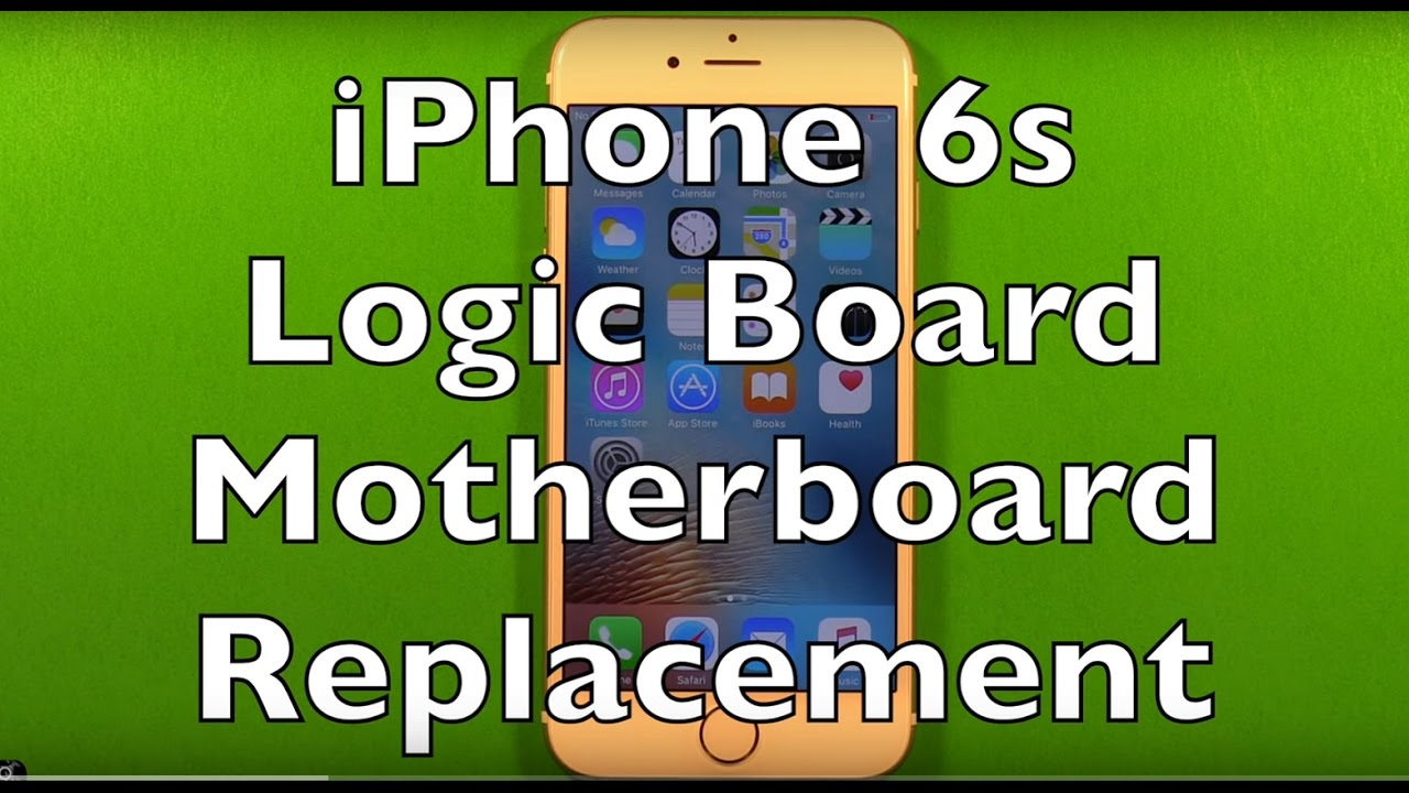 newest 2e2e3 516c9 iPhone 6s Logic Board Motherboard Replacement How To Change