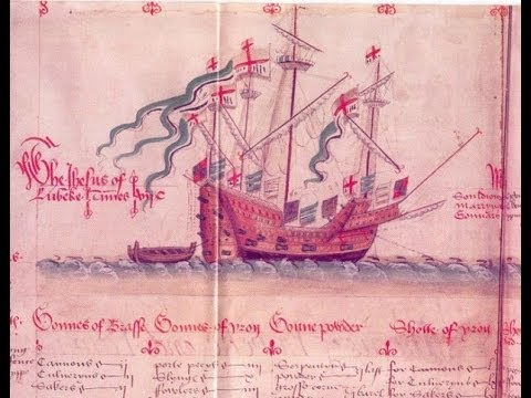 "(tazadaq) The Good Ship Jesus,""Jesus of Lubeck"" First Slave ship to America"