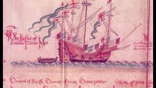 "(tazadaq) The Good Ship Jesus,""Jesus of Lubeck"" First Slave ship to America"