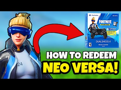 How To Redeem Neo Versa! (PS4 Exclusive) - Fortnite: Battle Royale
