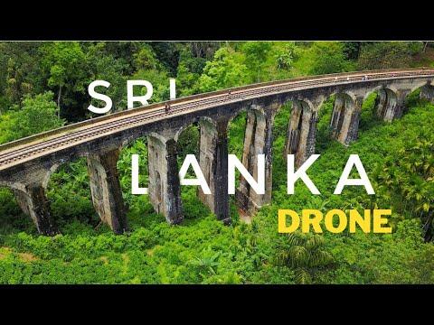 Sri Lanka Travel Drone Video | India to Sri Lanka | Best Tourist Places in Sri Lanka
