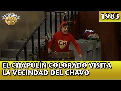 El Chapulín Colorado visita la vecindad del Chavo (Completo)