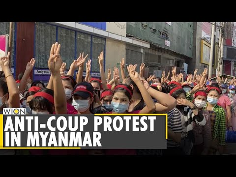 Anti-Coup protest against the military in Myanmar is growing | World News | Hindi News