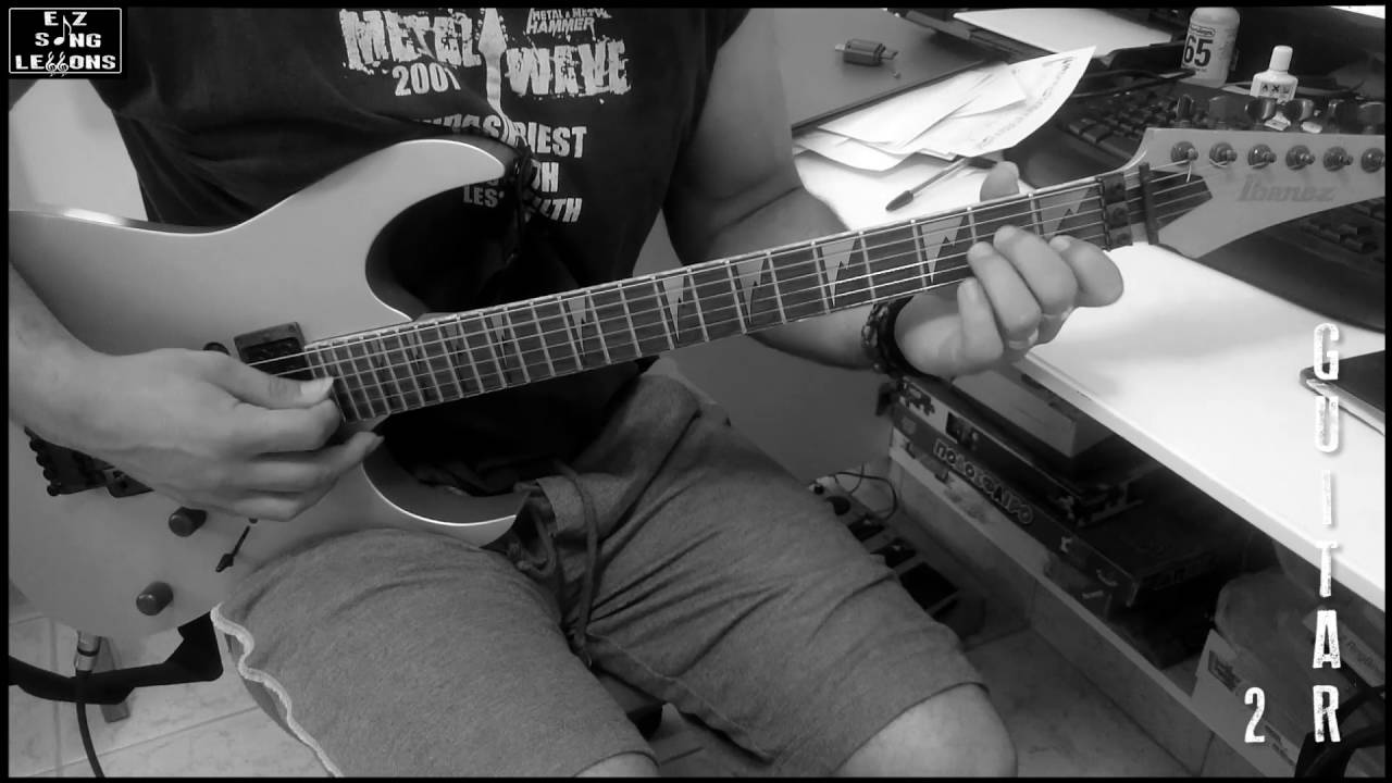 Lovesong The Cure Guitar Coverlesson With Tabscore Youtube