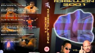 WWE Rebellion 1999,2000,2001,2002 Theme Song Full+HD