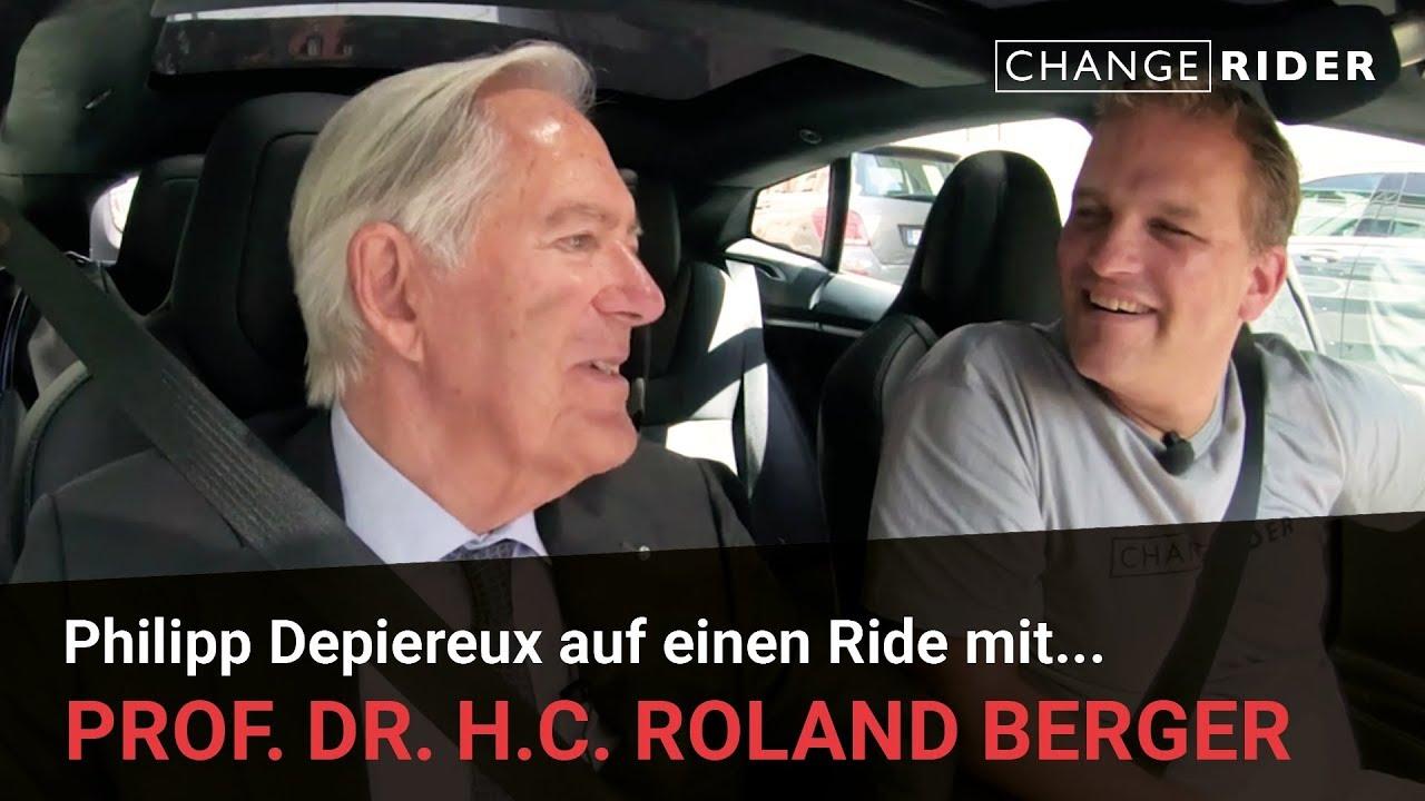 ChangeRider #10 Roland Berger: Man muss die Menschen begeistern und ihnen Optimismus einimpfen