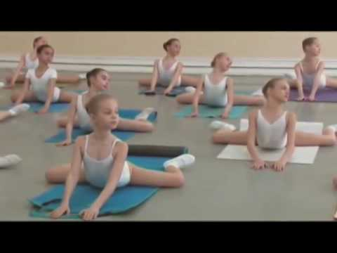 Vaganova Ballet Academy  Stretching and flexibility exercise