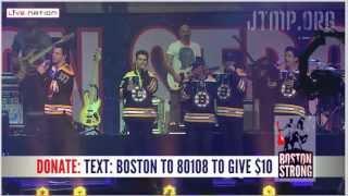 "Boston Strong - NKOTB & New Edition - ""Poison"" ""Please Don't Go Girl"" - LIVE"