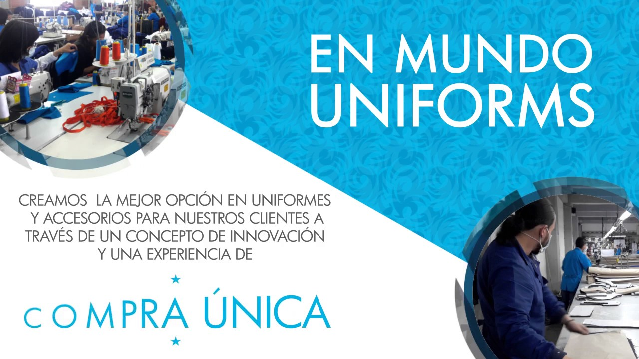 e758384db3634 Mundo Uniformes Corporativo. Mundo Uniforms
