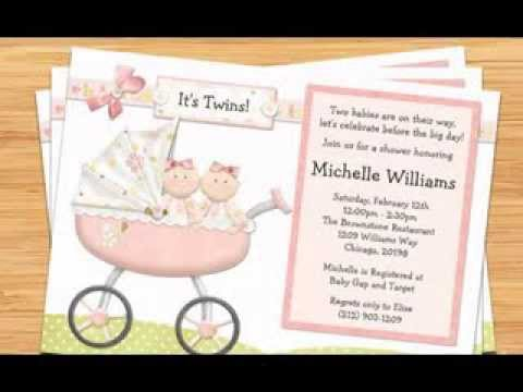 Baby Shower Ideas For Twin Girls Youtube