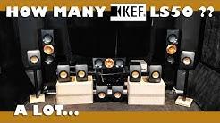 KEF R700 VS LS50 speaker review