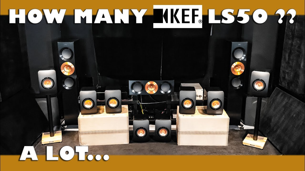 How Many KEF LS50 HiFi Speakers does ONE AUDIOPHILE NEED ??