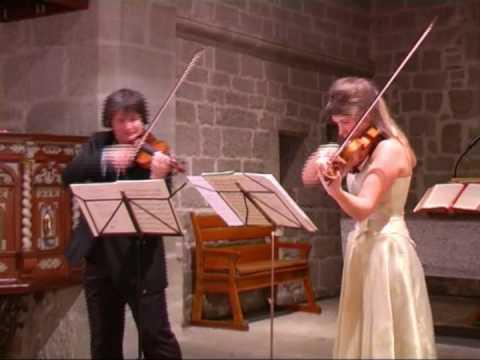 Ch. de Beriot: Grand Duo pour 2 violons op. 57 - I. Moderato