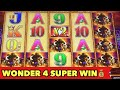 ⭐️BUFFALO GOLD CHASING 15 HEADS⭐️WONDER 4 JACKPOT WITH SUPER FREE GAME SUPER BIG WIN!