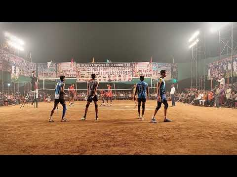 All India Volleyball Tournament 2019 S.K. Enginnering Vs New India Sport Club Nashik Set-1.