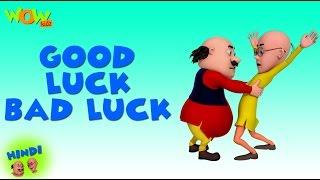 Good Luck Bad Luck - Motu Patlu in Hindi - 3D Animation Cartoon for Kids -As seen on  Nickelodeon